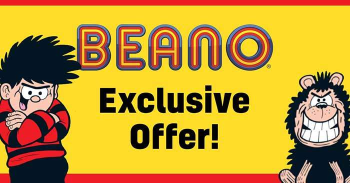 Beano Children's Magazine Exclusive Offer