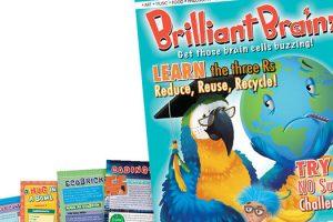 Brilliant Brainz magazine for primary aged children