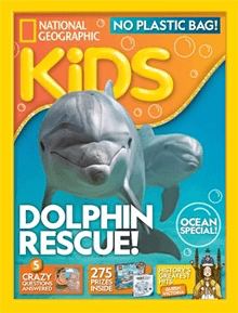 National Geographic Kids - annual subscriptions from £20 - a whole new way to explore their world. Geography. KS2 magazine suggestions.