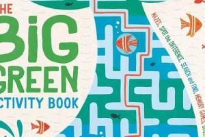 The Big Green Activity Book by Damara Strong