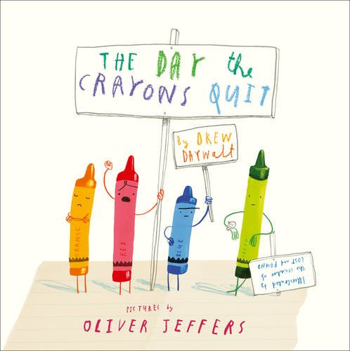 The Day The Crayons Quit by Drew Daywalt. Ideal to read to year 2 pupils