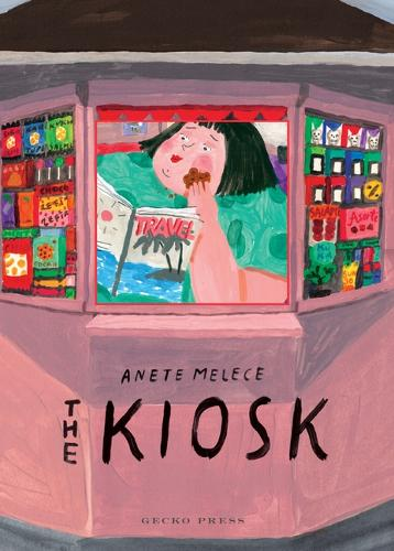 The Kiosk by Anete Melece. A great book to inspire writing in year 2