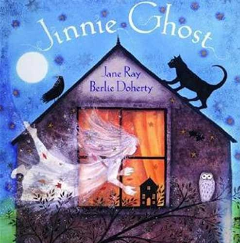 Jinnie Ghost by Berlie Doherty. A good book for year 2 reading groups