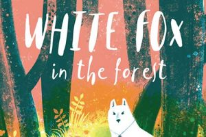 White Fox in the Forest by Chen Jiatong